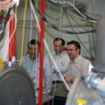 Visit to the Laser-manipulation laboratory of Laser Centre of University of Latvia.